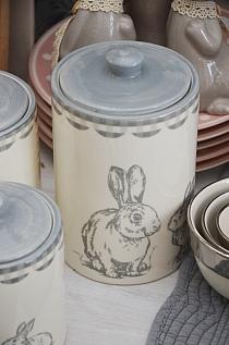 Pojemnik Bunny Grey L