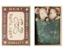 Myszki Baby Twins w pudełku Maileg