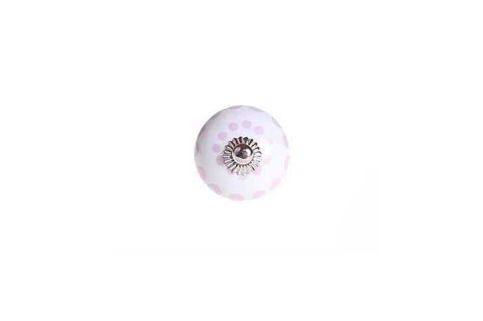 Gałka meblowa Rose Dots
