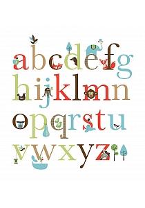 Naklejki ścienne Alfabet