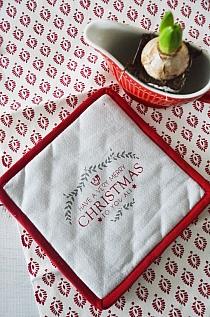 Zestaw podkładek Christmas Linen