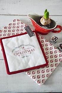 Zestaw podkładek Christmas White