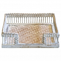 Serwetnik Tray white Green Gate