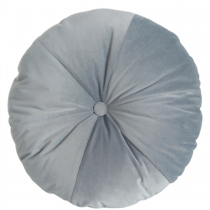 Poduszka Round Velvet l.blue